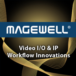 Magewell designs and develops innovative, award-winning hardware and software for video and audio capture, processing, conversion, streaming and playout.